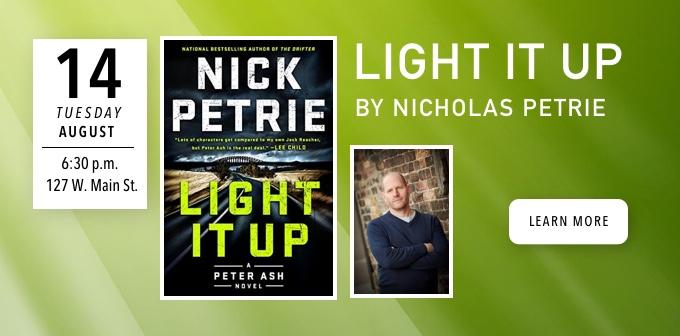 Reading and Q & A with Nicholas Petrie